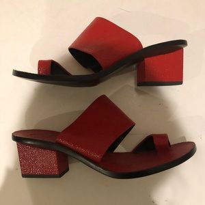 Tory Burch Block Heel Sandal